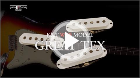 KTピックアップ GreatTexサウンドチェック動画